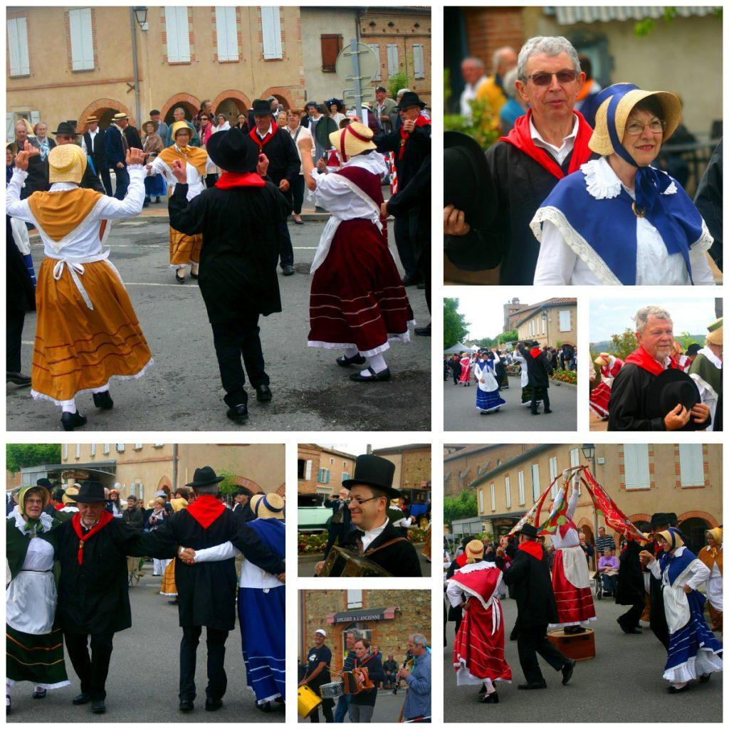 L'animation des rues par le groupe de danseurs occitans Los Segaïres, par les musiciens de La Talvera et par Christian & Valérie a été particulièrement appréciée.